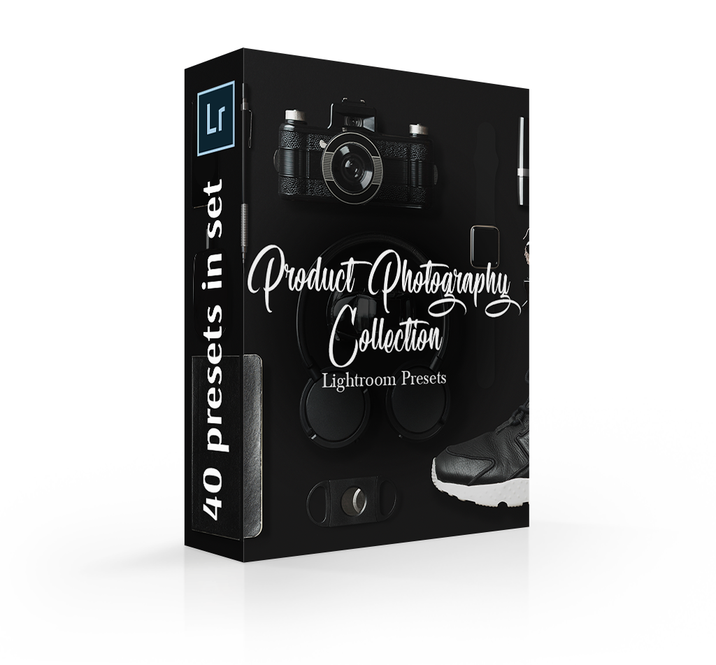 Product photography lightroom presets