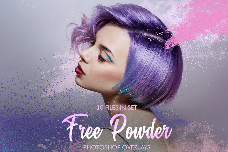 10 Free Color Powder Explosion PNG Files|Powder Overlay Photoshop Free