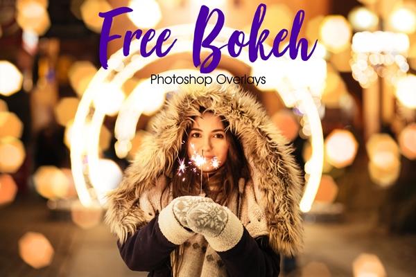 Free Bokeh Overlays for Photoshop Free Bokeh Overlay