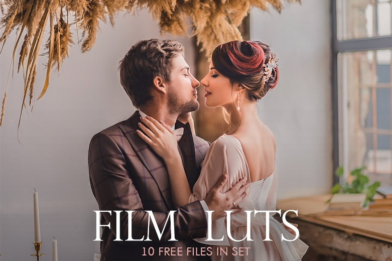 Download 10 Free Film LUTs|Film Look LUTs Pack for Video Editing