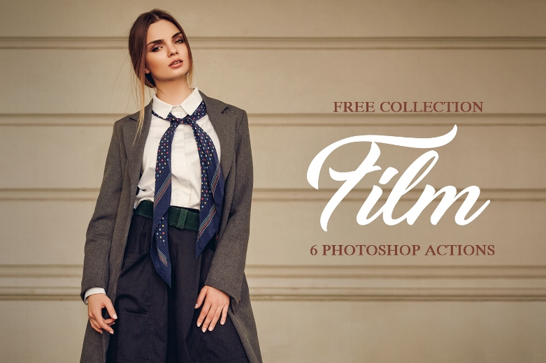 6 Free Film Photoshop Actions|Download Film Look Photoshop