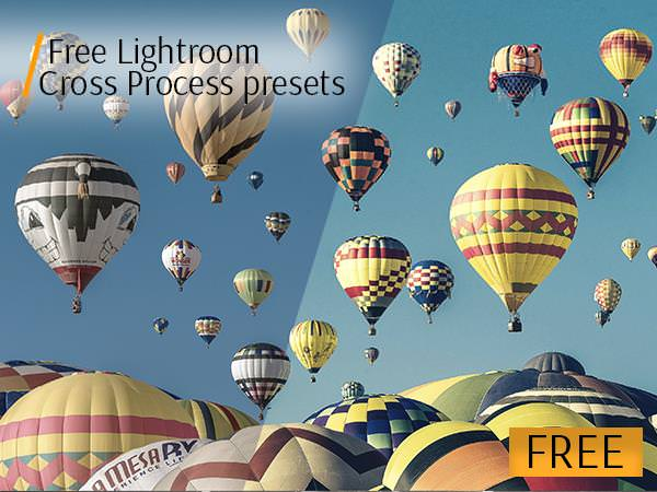 free lightroom presets cross process poster balloons