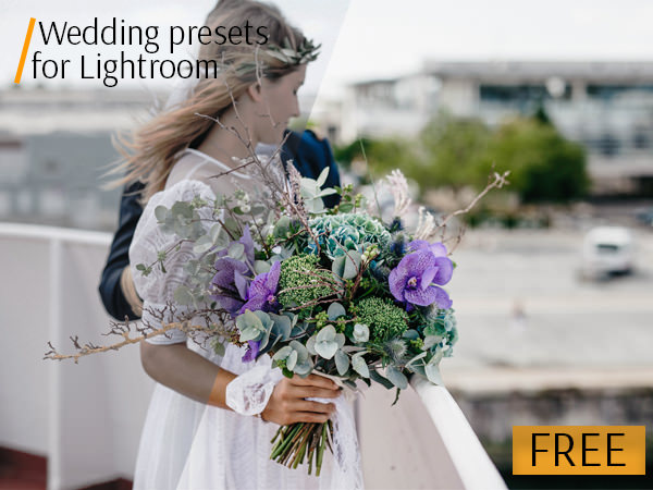 free lightroom presets wedding poster flowers
