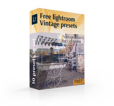 vintage preset lightroom free bundle cover