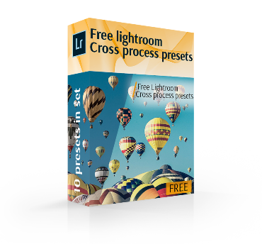 free lightroom cross process presets cover box