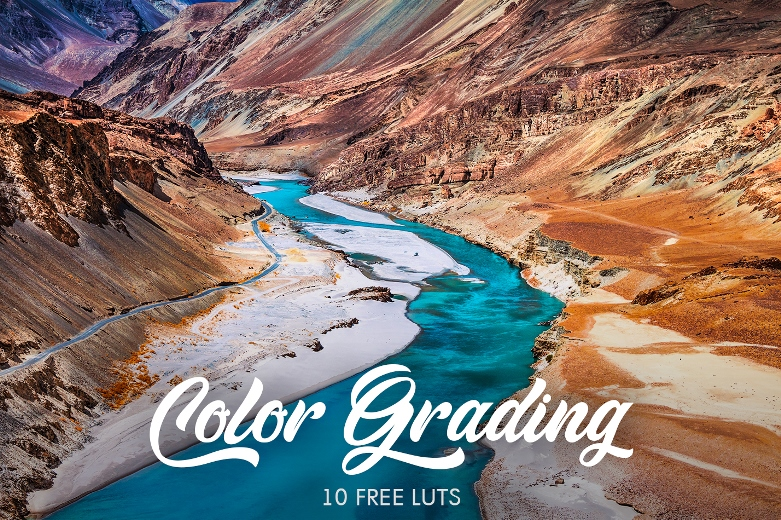 LUT Color Grading – Free Collection|LUTs Color Grading for