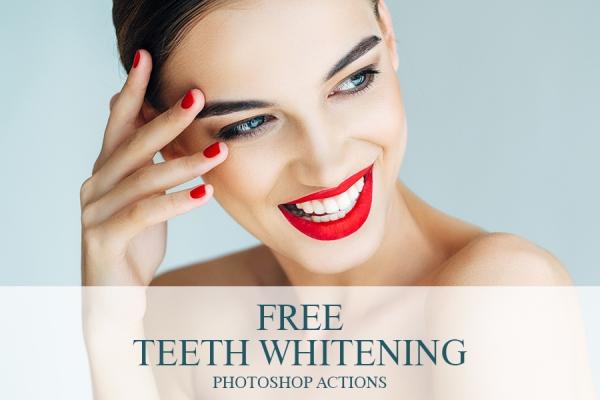 Teeth Whitening Action Free Photoshop Teeth Whitening Action Photoshop