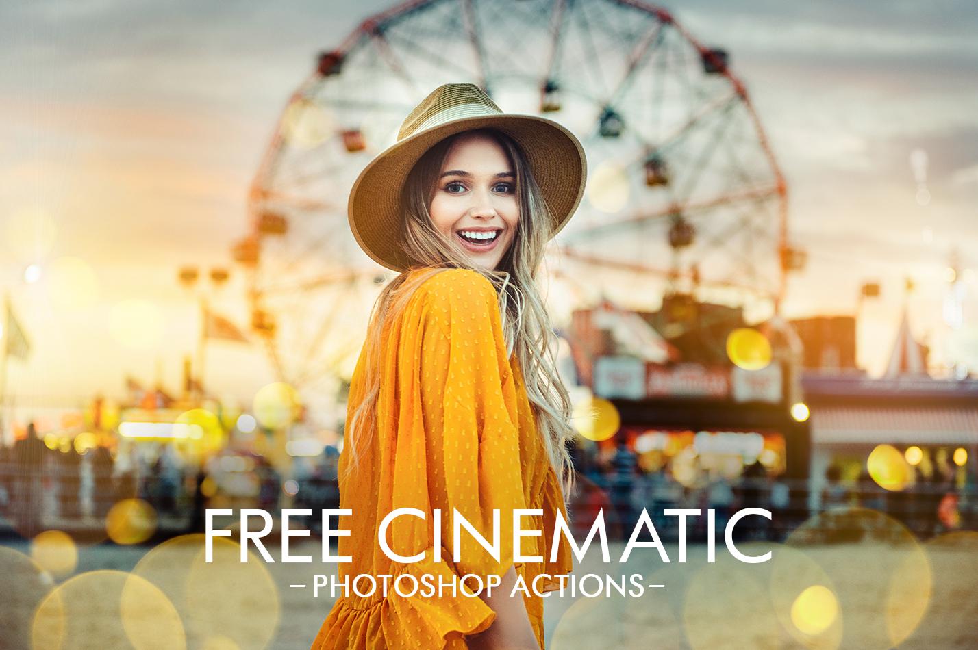 VSCO Actions Photoshop - Cinematic Look Photoshop Action