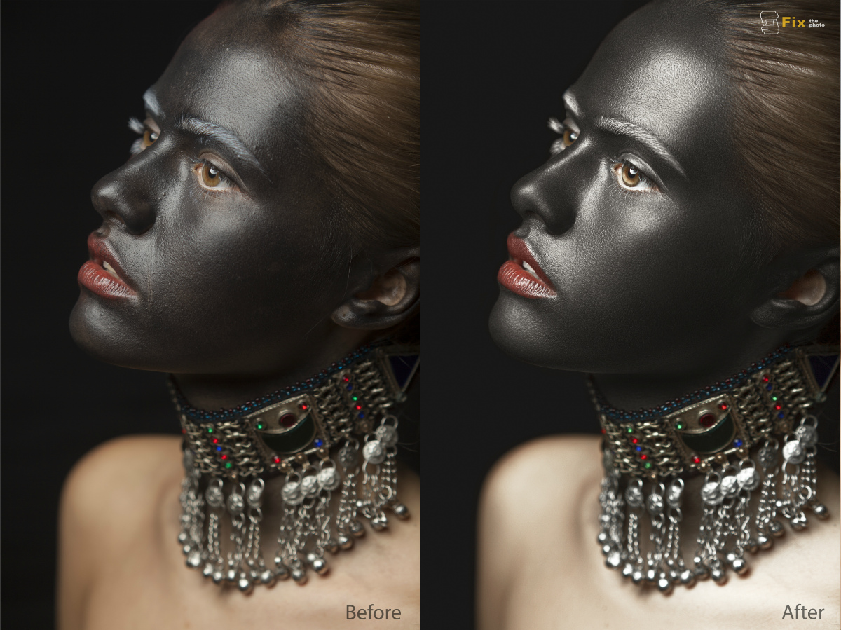 High End of retouching