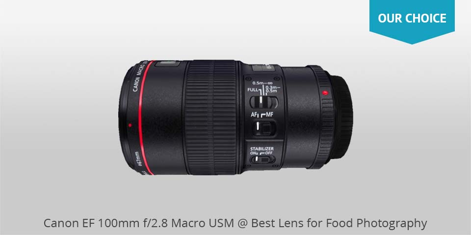 canon ef 100mm macro usm lens for food photo