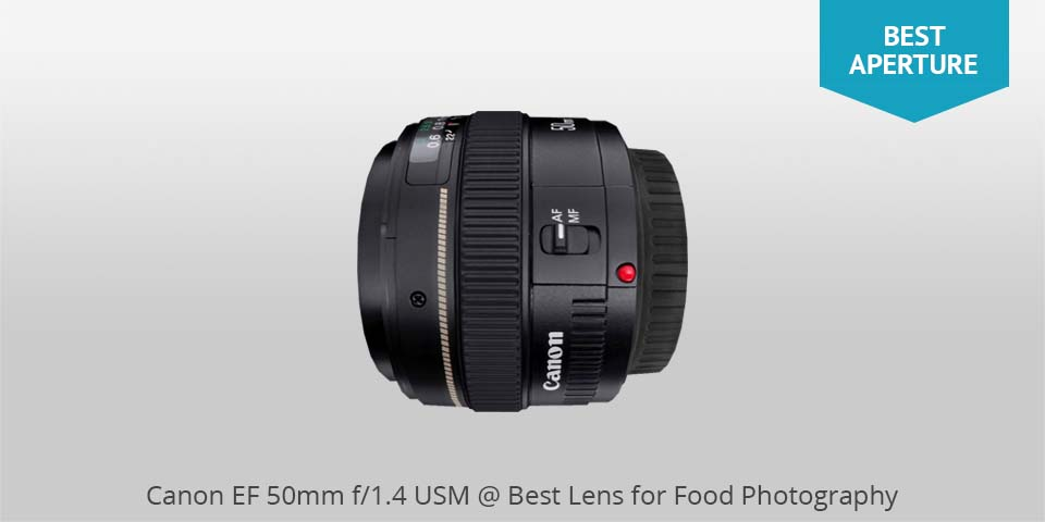 canon 50mm usm lens for food photo