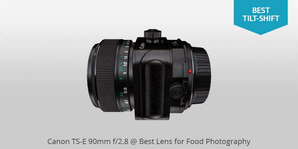 canon ts-e 90mm lens for food photo