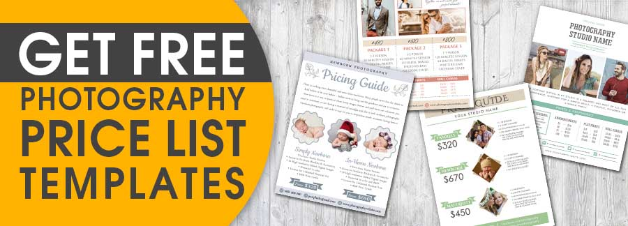 Best Photography Pricing Formula - Price List For