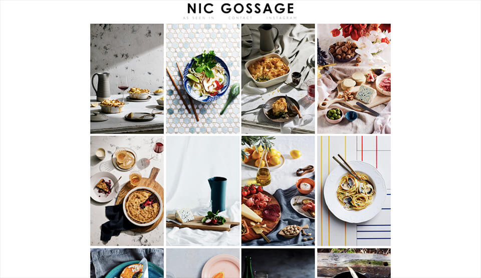 how to get good food photography portfolio