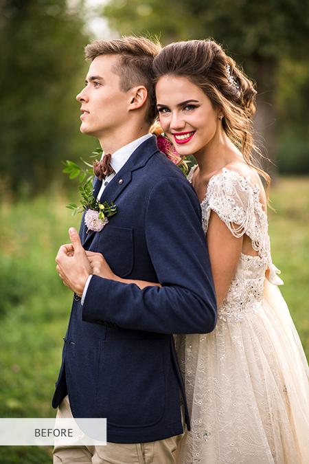 servicio de retoque fotográfico de boda
