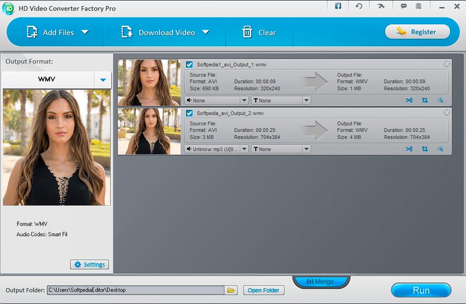 free hd video converter factory video converter no watermark interface