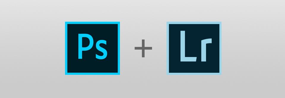 logotipo de photoshop y lightroom cc