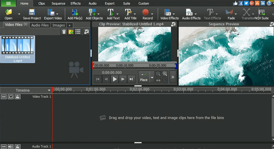 VideoPad Video Editor Review 2020