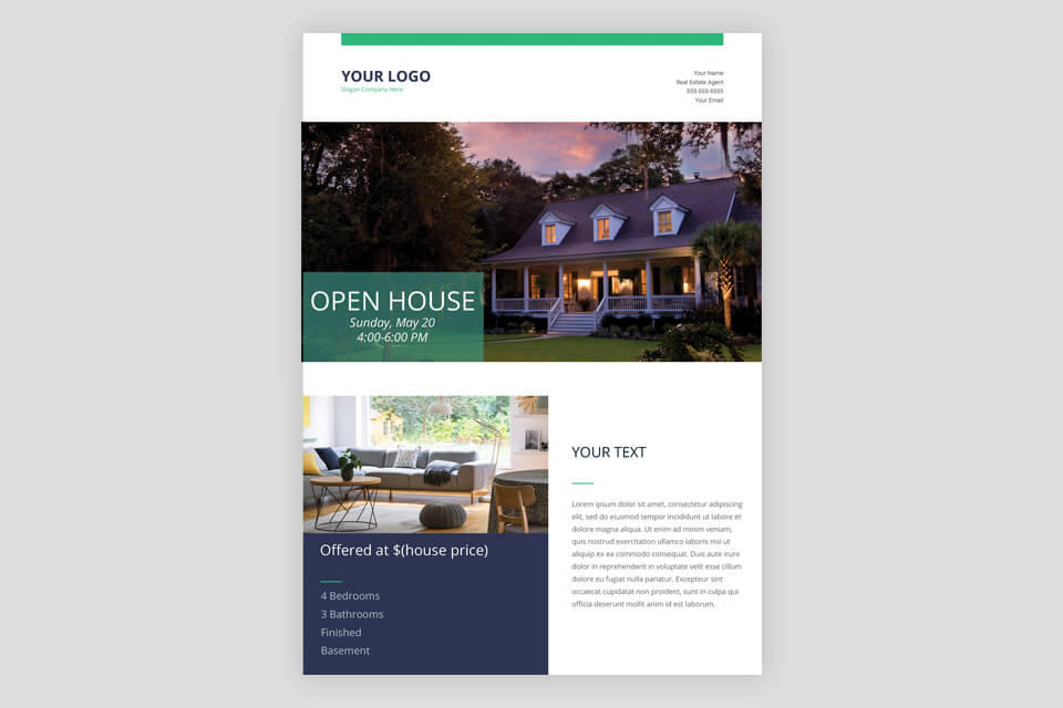 10 Free Real Estate Flyer Templates