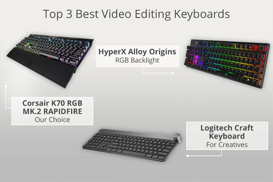 9 Best Video Editing Keyboards In 2020