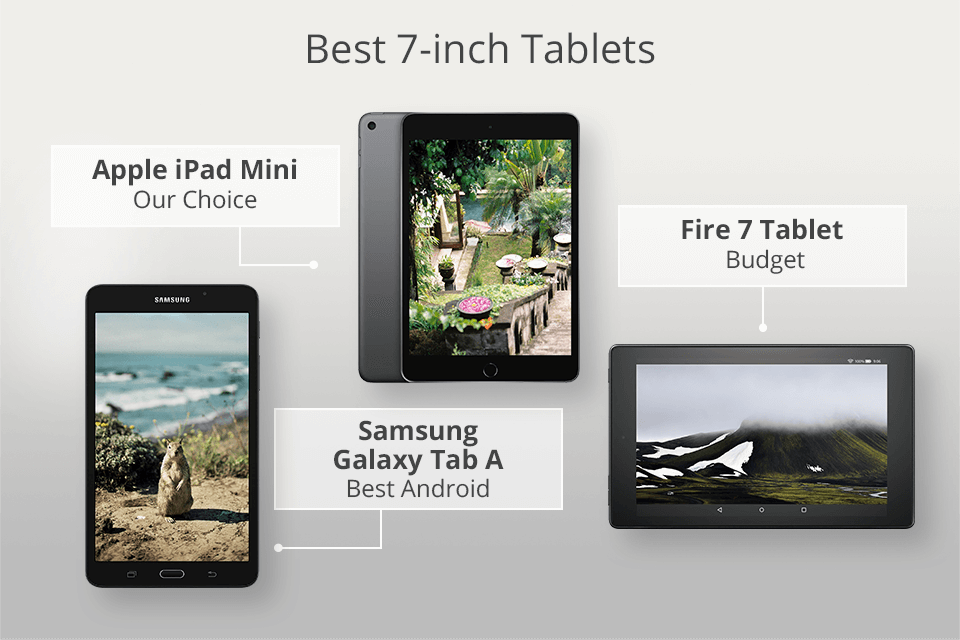 5 Best 7 Inch Tablets To Buy In 2021