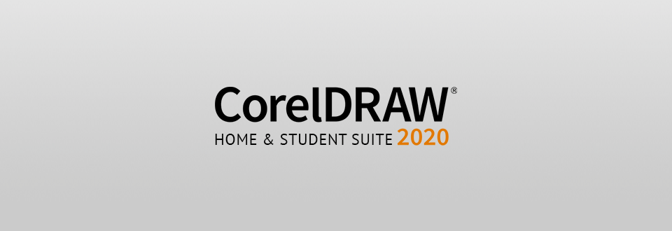 coreldraw home & student suite logo