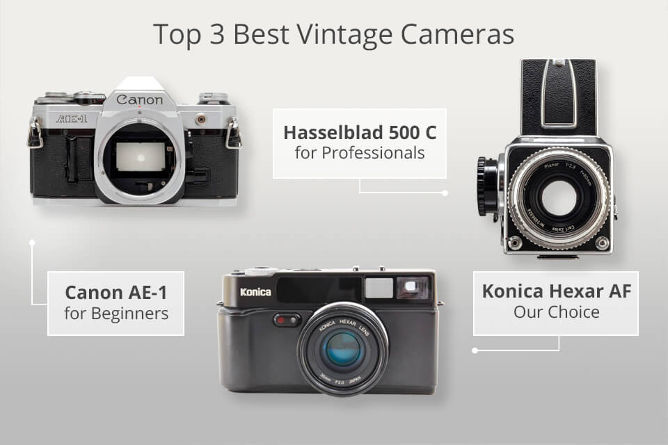 15 Best Vintage Cameras - What is the Best Vintage Camera to