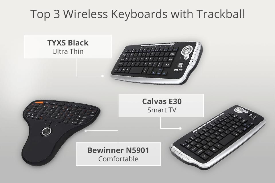 4 Best Wireless Keyboards With Trackball In 2021