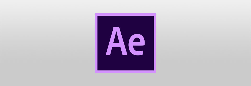 logotipo do after effects