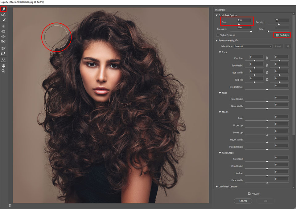 How To Remove Stray Hairs In Photoshop Tutorial 3 Free Hair Brushes