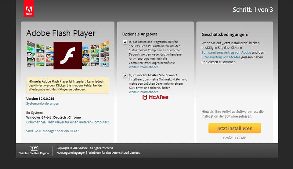 Flash Player Kostenlos