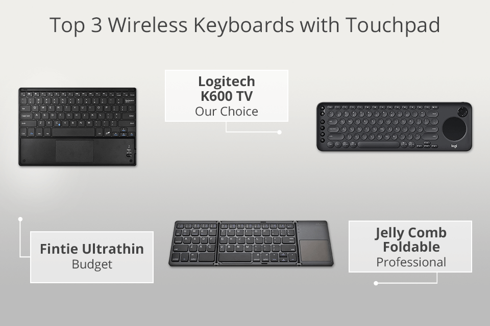 7 Best Wireless Keyboards With Touchpad In 2021