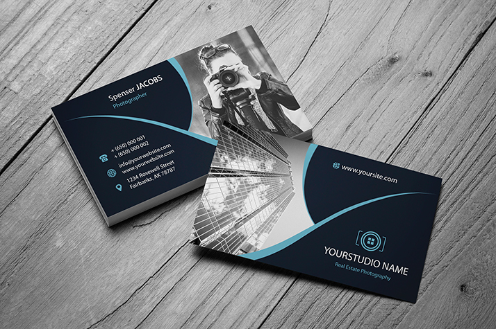 Real estate business card ~ business card templates ~ creative market.