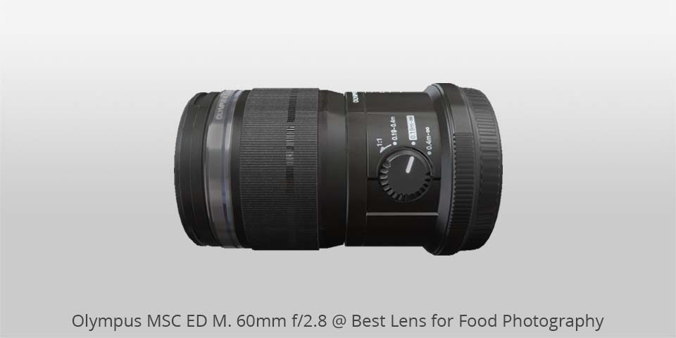 Olympus msc 60mm lens for food photo