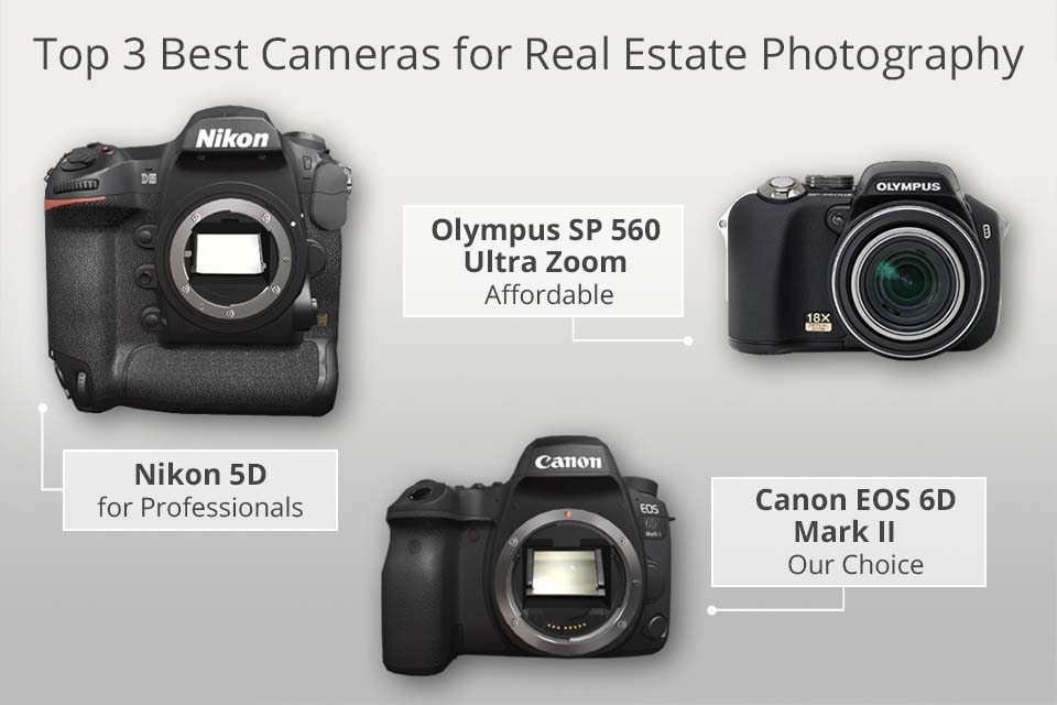 Top 15 Best Cameras for Real Estate Photography