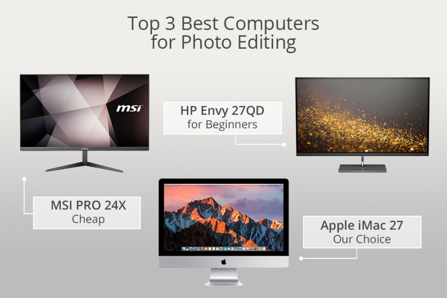 Best Computer for Photo Editing – What Computer Should You Buy to
