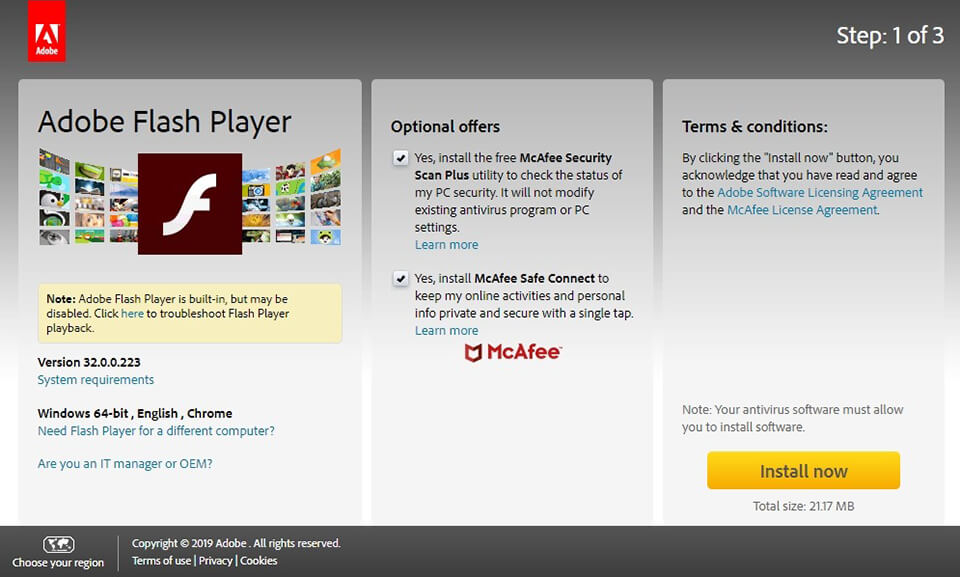 How To Get Adobe Flash Player Free Legally Download Flash Player Free