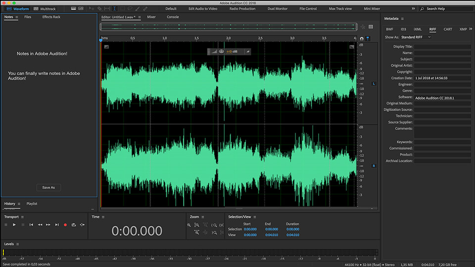 Adobe Audition Free Download in 2 Clicks