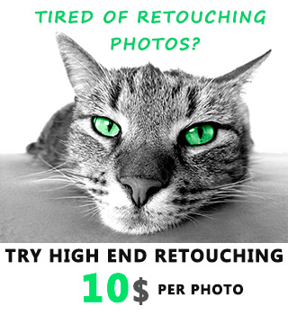 Try High End Photo Retouching just $10 per photo!