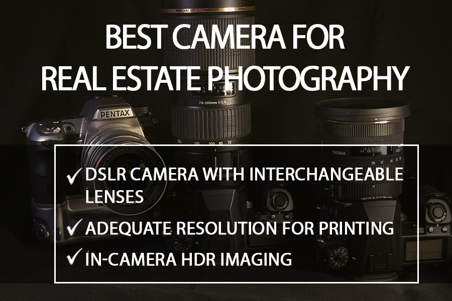 best camera settings for real estate photography