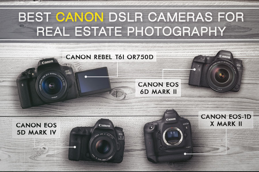 canon best camera for real estate photography