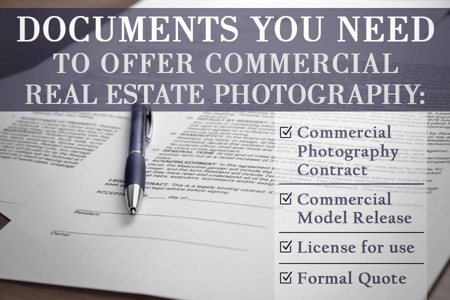 документы, необходимые для коммерческой фотографией