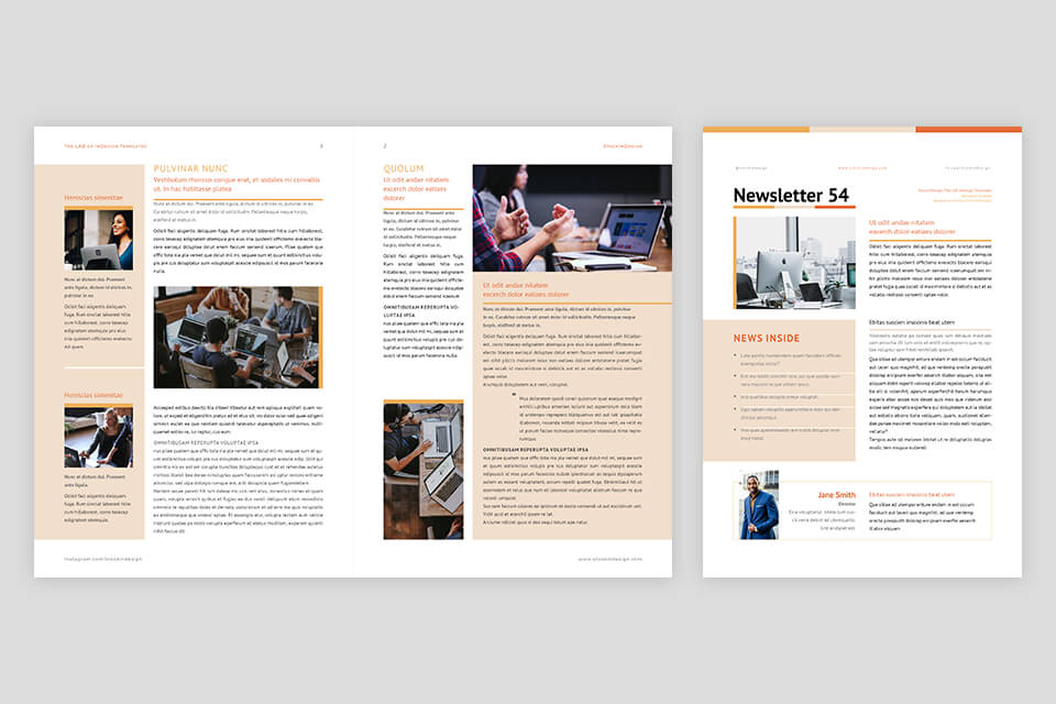 25 Best Adobe Indesign Templates For Any 15