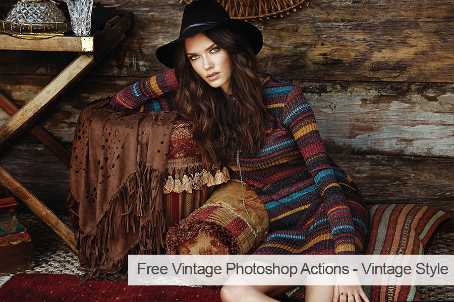 free lightroom actions for portraits vintage
