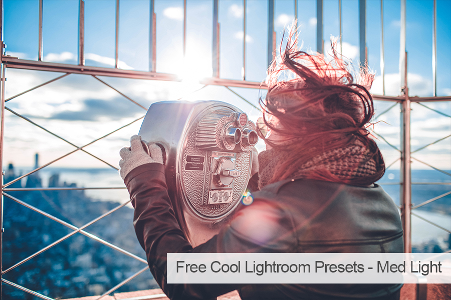 free lightroom presets for portraits cool effect