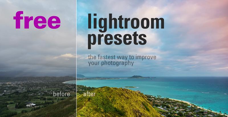 100 + free lightroom presets to download.