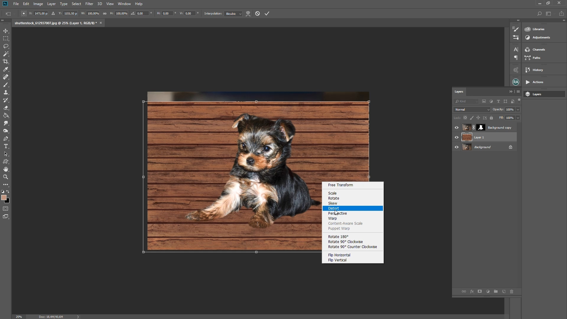 how to add texture to photoshop