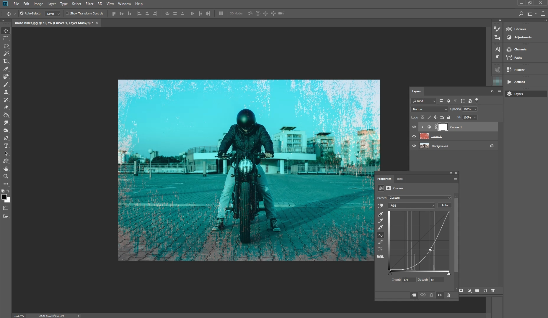 how to add texture on photoshop