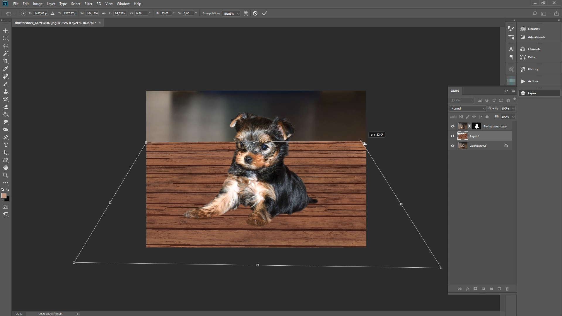 add texture in photoshop