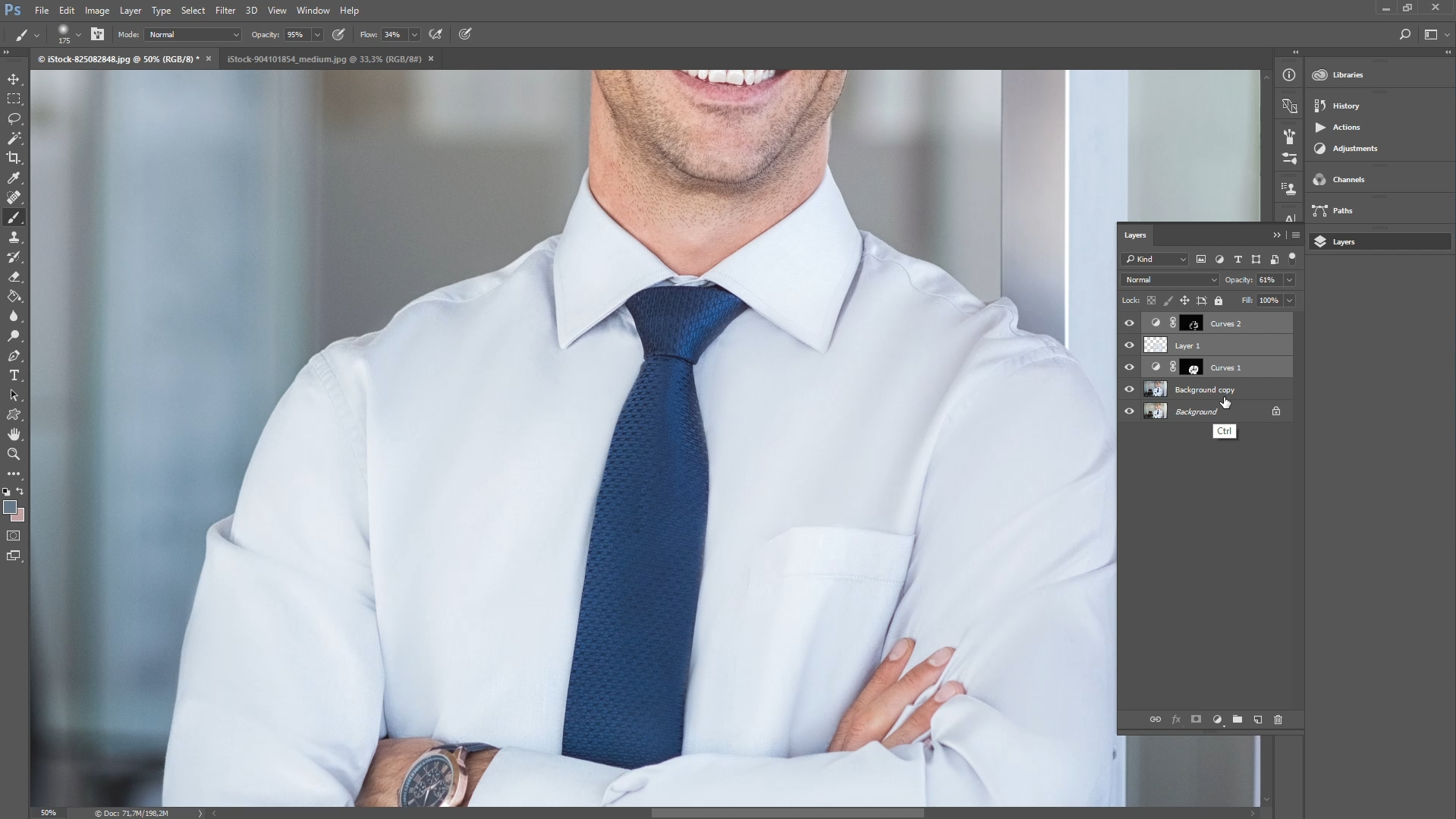 how to remove clothing wrinkles in photoshop step 7